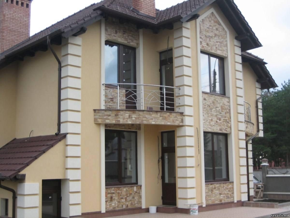 Termoizolarea cladirilor fatade piatra naturala si for Design exterior fatade case
