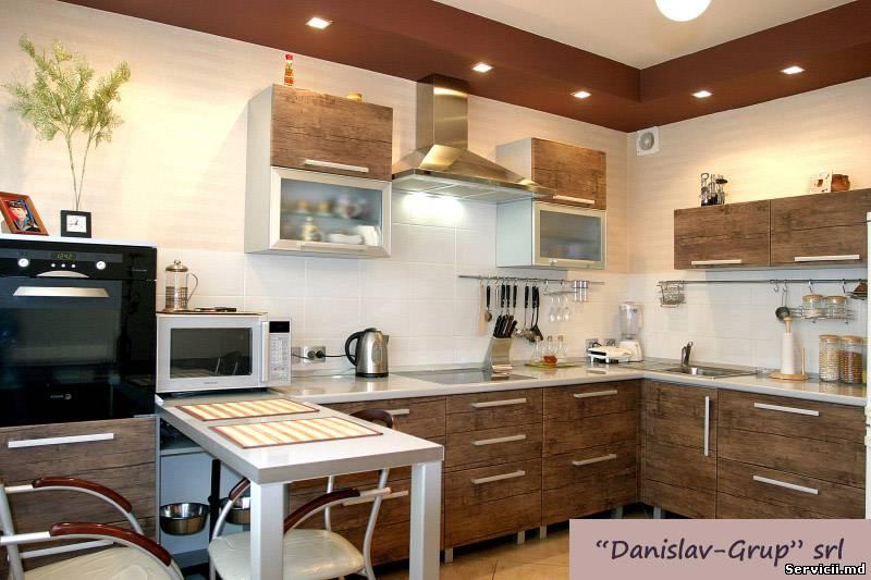 Кухня 14 метров дизайн фото